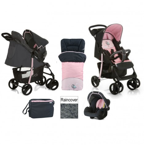 Hauck Shopper SLX Shop n Drive Travel System + Accessories - Birdie