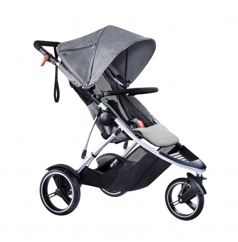 Phil & Teds Dash Pushchair - Grey Marl