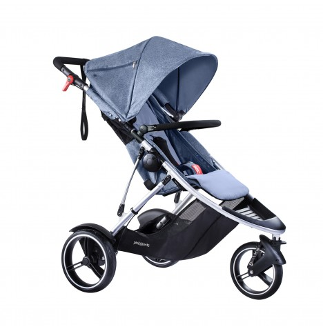 Phil & Teds Dash Pushchair - Blue Marl