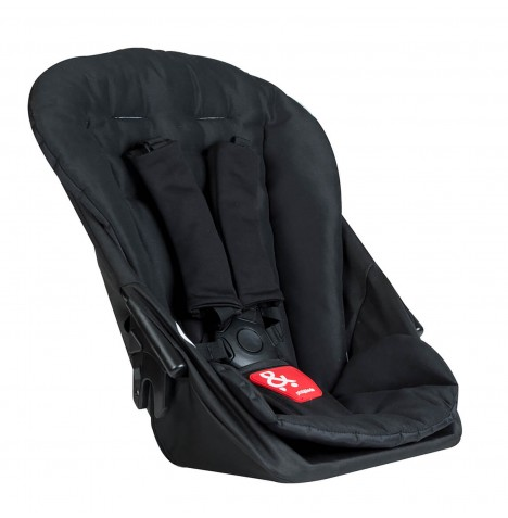 Phil & Teds Dash Double Kit / Second Seat - Black