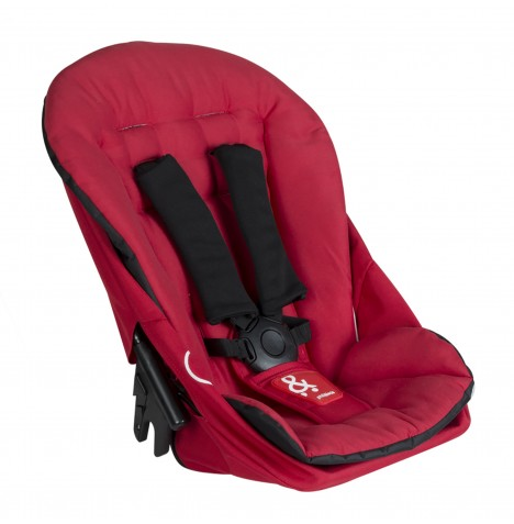 Phil & Teds Dash Double Kit / Second Seat - Red