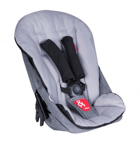 Phil & Teds Dash Double Kit / Second Seat - Grey Marl