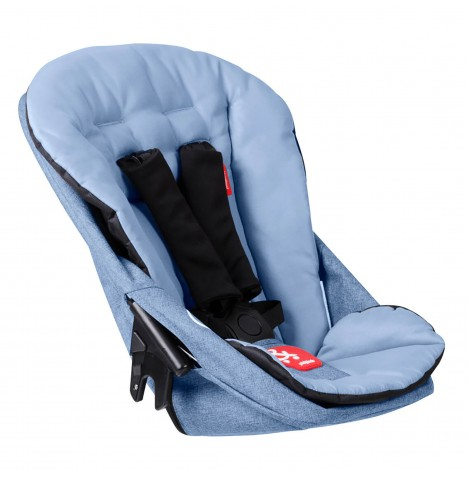 Phil & Teds Dash Double Kit / Second Seat - Blue Marl