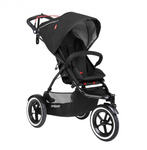 Phil & Teds Sport Autostop Pushchair - Black