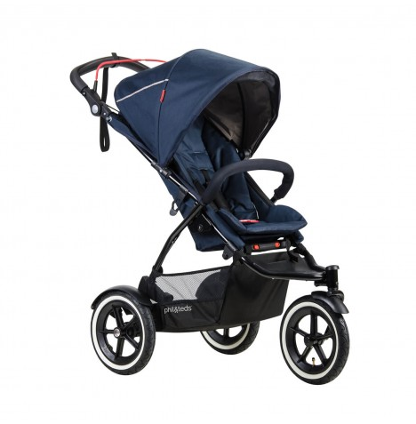 Phil & Teds Sport Autostop Pushchair - Midnight Blue