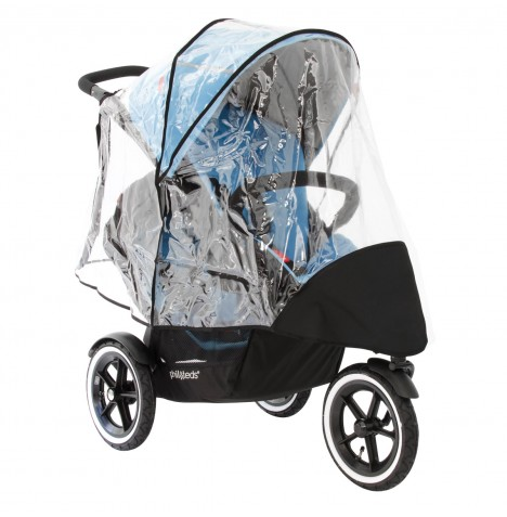 Phil & Teds Sport / Navigator Double Storm Cover / Rain Cover