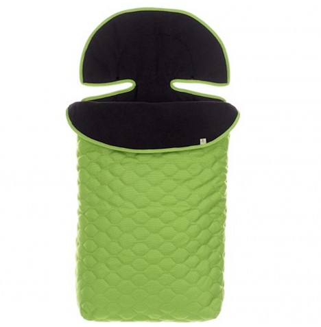 Obaby Zezu Quilted Pushchair Footmuff - Lime