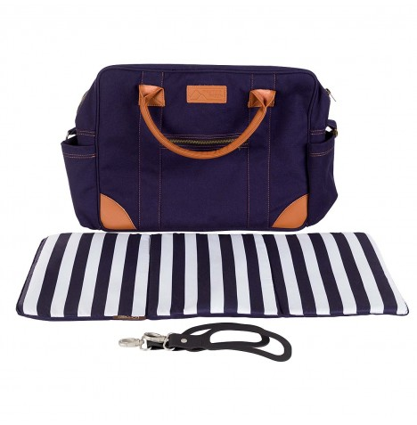 Mountain Buggy Luxury Satchel - Nautical