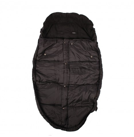 Mountain Buggy Fleece Lined Sleeping Bag / Footmuff - Black