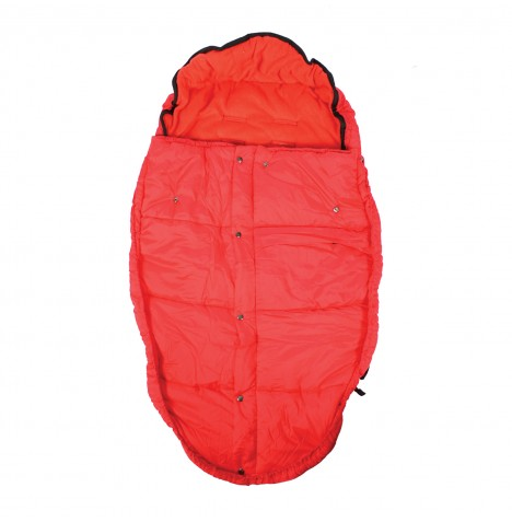 Mountain Buggy Fleece Lined Sleeping Bag / Footmuff - Chilli