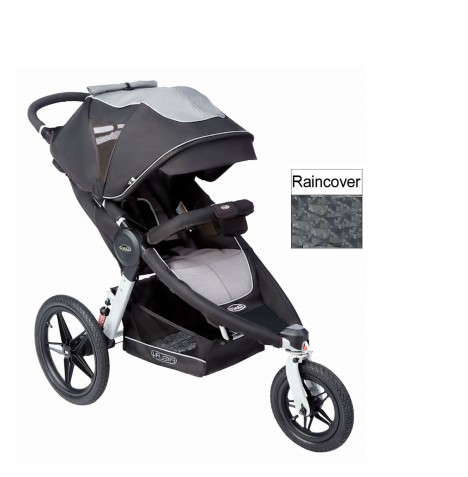 Graco Relay 3 Wheel Activity Pushchair / Stroller - Panther