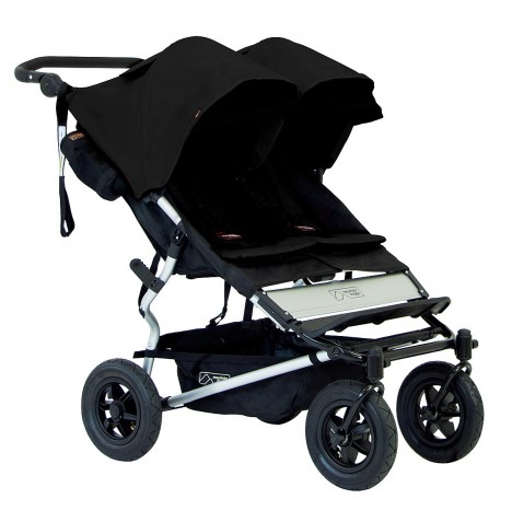Mountain Buggy Duet V2.5 Twin Pushchair - Black