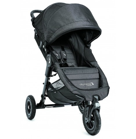 New Baby Jogger City Mini GT Single Stroller - Charcoal Denim