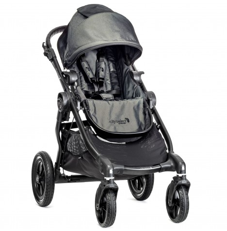 New Baby Jogger City Select Stroller - Charcoal Denim