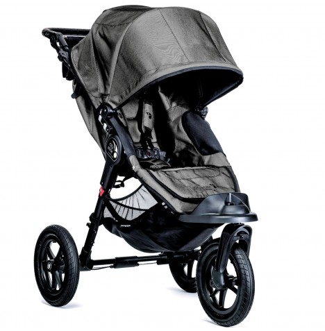 New Baby Jogger City Elite Single Stroller - Charcoal Denim