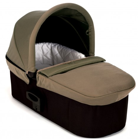 Baby Jogger Deluxe Carrycot Pram - Taupe