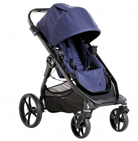 New Baby Jogger City Premier Stroller Pushchair - Indigo