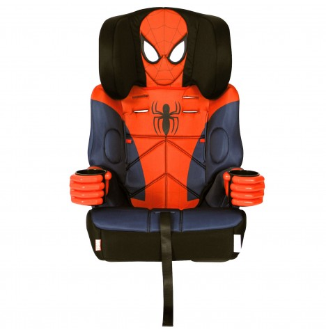 Kids Embrace Group 1,2,3 Booster Car Seat - Spiderman