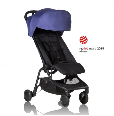 Mountain Buggy Nano Stroller - Nautical