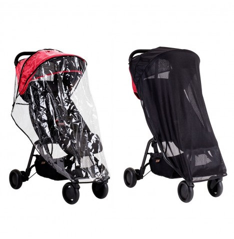 Mountain Buggy Nano All Weather Cover Set (Storm Cover & Sun Cover)