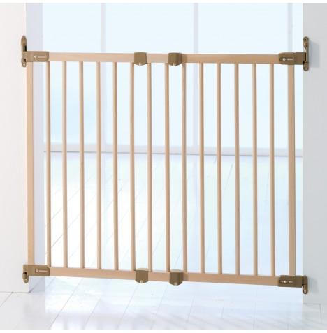 babydan wooden extending stair gate 2