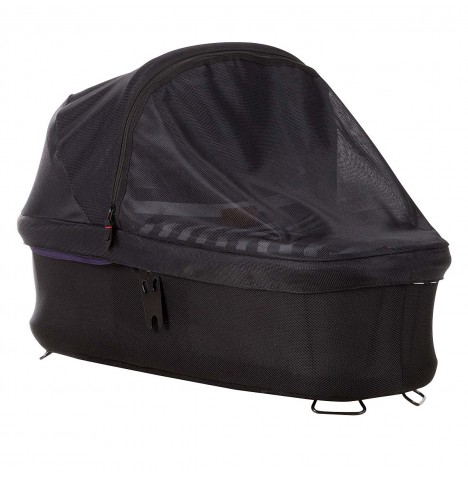 Mountain Buggy Urban Jungle / Terrain / +One Carrycot Plus Sun Cover - Black