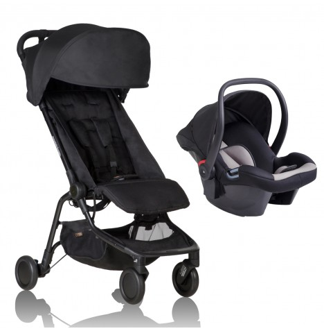 Mountain Buggy Nano Travel System - Black