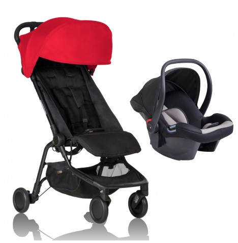 Mountain Buggy Nano Travel System - Ruby