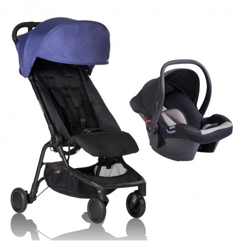 Mountain Buggy Nano Travel System - Nautical