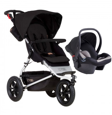 Mountain Buggy Urban Jungle Travel System - Black