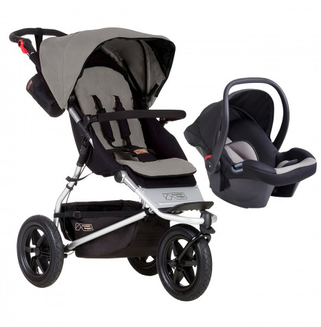 Mountain Buggy Urban Jungle Travel System - Silver