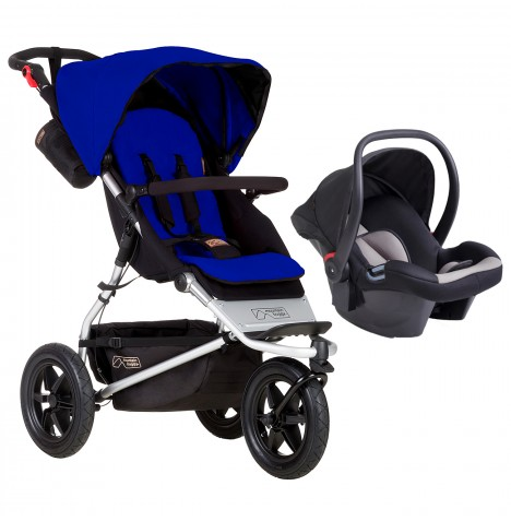 Mountain Buggy Urban Jungle Travel System - Marine