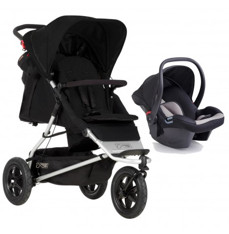 Mountain Buggy +One Travel System - Black