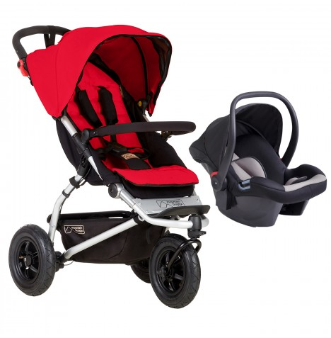 Mountain Buggy Swift Travel System - Berry