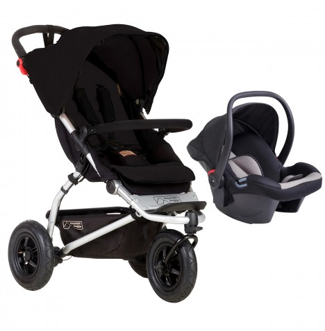 Mountain Buggy Swift Travel System - Black