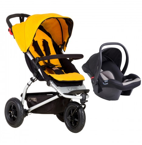 Mountain Buggy Swift Travel System - Gold