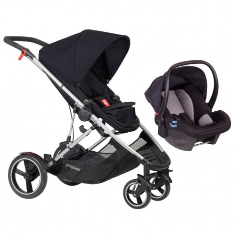 Phil & Teds Voyager Travel System - Black