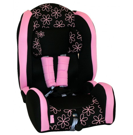 4Baby Tourismo Group 1,2,3 Booster Car Seat - Pink