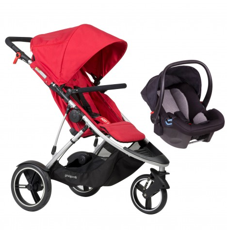 Phil & Teds Dash Travel System - Red