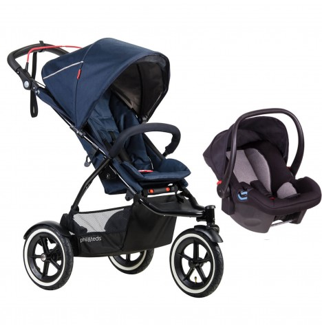 Phil & Teds Sport Autostop Travel System - Midnight Blue