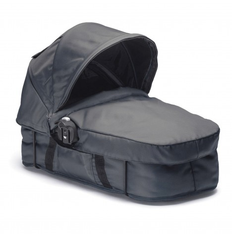 New Baby Jogger Select Carrycot - Charcoal Denim