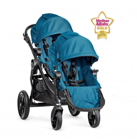 New Baby Jogger City Select Tandem Stroller - Teal