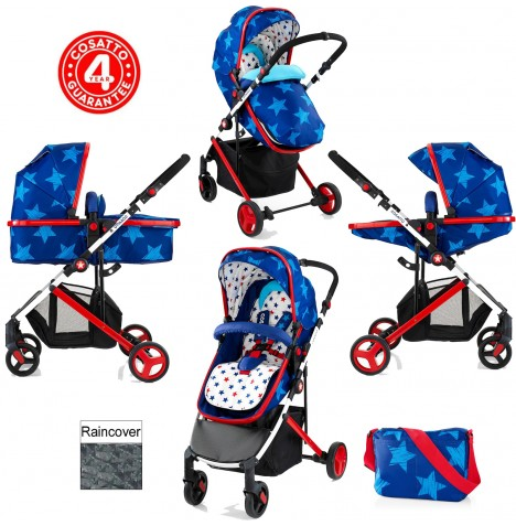 Cosatto Wish 2 in 1 Pushchair - Starbright