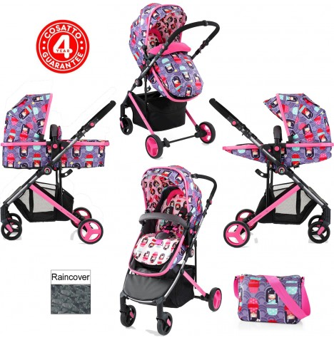 Cosatto Wish 2 in 1 Pushchair - Kokeshi Smile