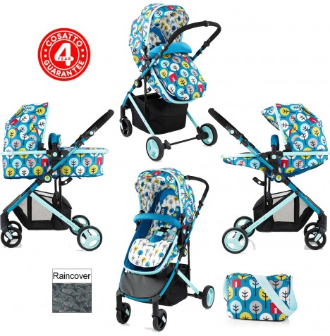 Cosatto Wish 2 in 1 Pushchair - My Space