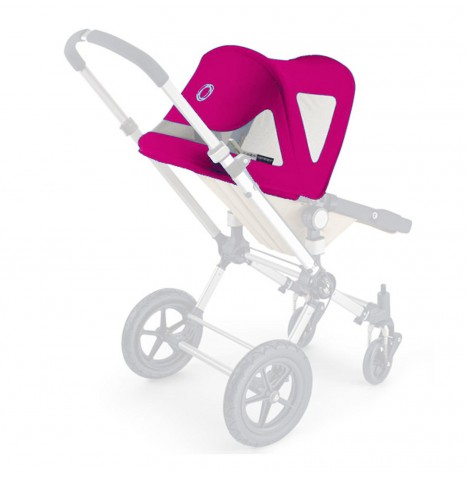 Bugaboo Cameleon Breezy Sun Canopy Canvas - Pink