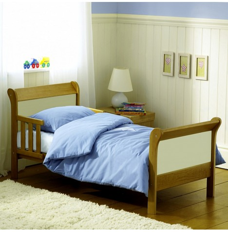 Saplings Poppy Junior Toddler Bed - Country / Ivory
