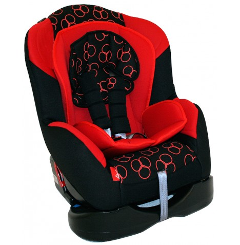 4Baby Amalfi Recliner Car Seat Group 0/1 - Racing Red