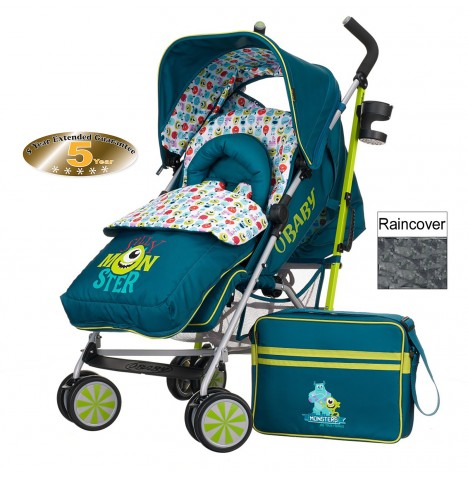 Obaby Disney Stroller Bundle - Monsters Inc