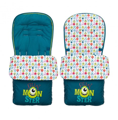 Obaby Disney Pushchair Footmuff - Monsters Inc